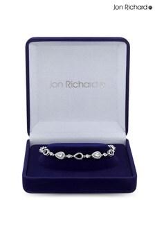 Jon Richard Bridal Cubic Zirconia Pear drop Bracelet