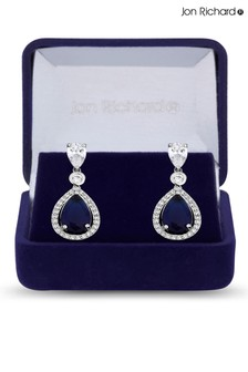 Jon Richard Bridal Cubic Zirconia Tennis Pear Drop Earring - Gift Boxed