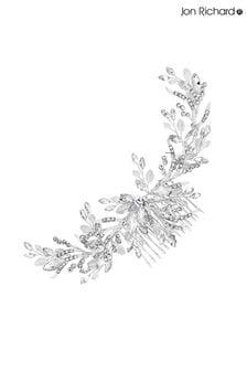 Jon Richard Wreath Haarkamm mit Kristall- und Perlenbesatz