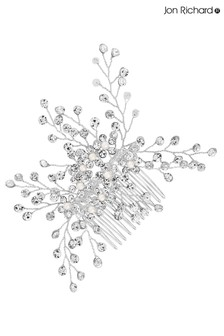 Jon Richard Bridal Clear Crystal Hazel Spring Hair Comb