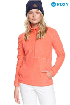Roxy Cascade Zip Up Thermal Fleece Top