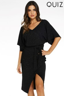 Quiz Batwing Midi Dress