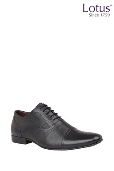 Lotus Footwear Leather Toe Cap Lace Formal Shoes