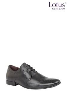 Lotus Footwear Leather Brogue Lace Formal Shoe
