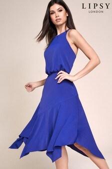 Lipsy Fit And Flare Midi Dress