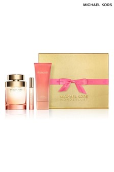 Michael Kors Wonderlust 100ml EDP and 10ml Rollerball and 75ml Body Lotion Gift Set