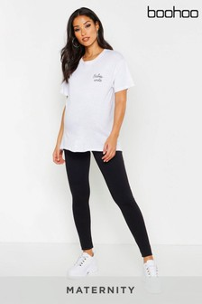 Boohoo Maternity Basic Leggings