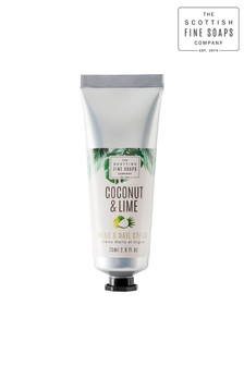 Scottish Fine Soaps Coconut & Lime Hand & Nail Cream 75ml