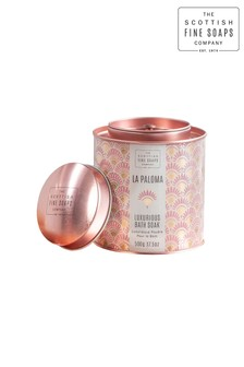 Scottish Fine Soaps La Paloma Luxurious Bath Soak 500g Tin