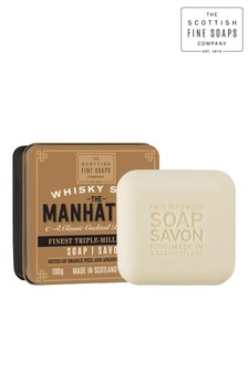 Scottish Fine Soaps Whisky Soap in a Tin