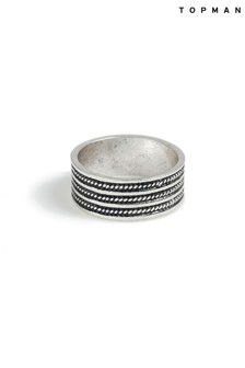 Topman Engraved Ring