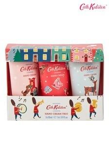 Cath Kidston Christmas Village Hand Cream Trio