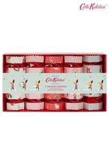 Cath Kidston Christmas Village Crackers Set