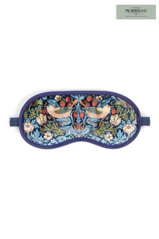 Morris & Co Strawberry Thief Velvet Lavender Eye Mask