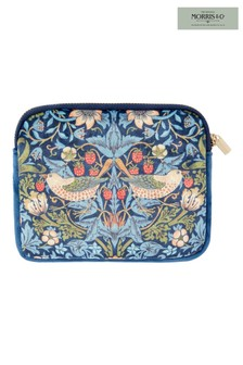 Morris & Co Strawberry Thief Velvet Coin Purse