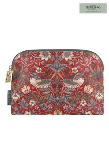 Morris & Co Strawberry Thief Cosmetic Makeup Bag - Small