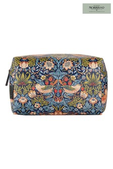 Morris & Co Strawberry Thief Large Wash Bag