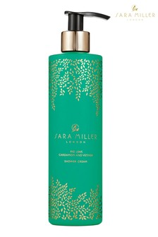 Sara Miller Fig Leaf, Cardamom and Vetiver Shower Cream
