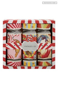Vintage & Co Grand Circus Lets Go Crackers Set