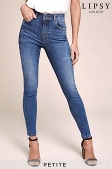 Lipsy Petite Kate Mid Rise Skinny Jeans