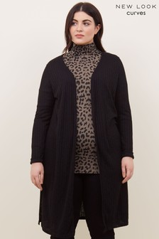 New Look Curve Midi Cardigan