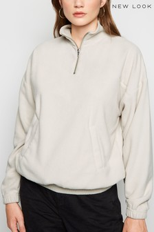 New Look Zip Neck Fleece