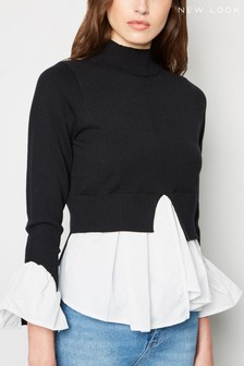 New Look 2-In-1 High Neck Jumper