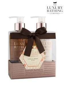 The Luxury Bathing Company Dream Duo - Beautiful Display Tin containing 300ml Hand Wash and 300ml Hand & Nail Cream