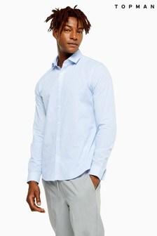 Topman Stripe Slim Shirt