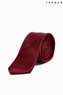 Topman Burgundy Tie