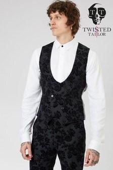 Twisted Tailor Fleet Tuxedo Waistcoat