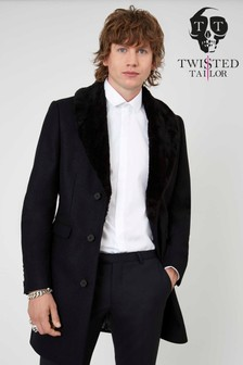 Twisted Tailor Longline Overcoat
