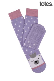 Totes Ladies Original Slipper Sock