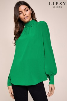 Lipsy High Neck Blouse