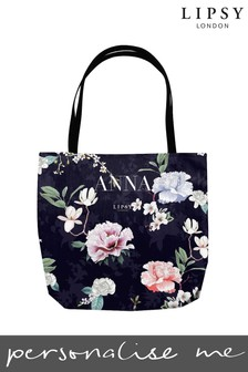 Personalised Lipsy Naomi Tote Bag By Instajunction