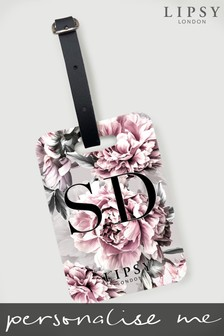 Personalised Lipsy Amelie Luggage Tag by Koko Blossom