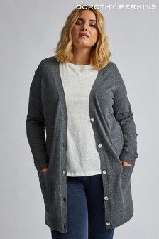 Dorothy Perkins Curve Button Cardigan