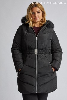 Dorothy Perkins Curve Long Luxe Padded Jacket