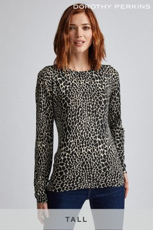 Dorothy Perkins Tall Fine Gauge Crew Neck Jumper