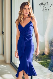 Abbey Clancy x Lipsy Twist Cami Midi Dress