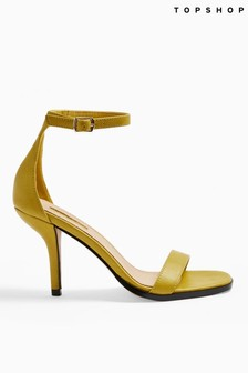 Topshop Curve Open Toe Sandals