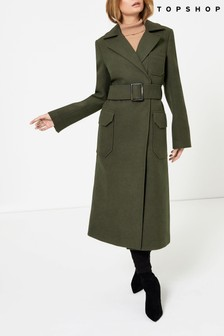 Topshop Utility Trench Coat