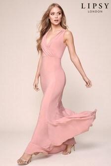 Lipsy Cowl Back Maxi Dress