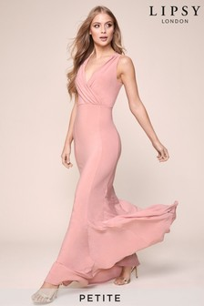 Lipsy Petite Cowl Back Maxi Dress