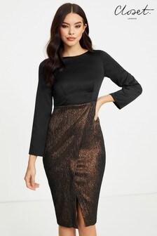 Ołówkowa sukienka2 w 1 Closet