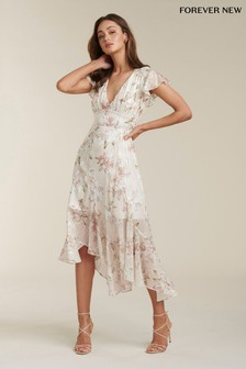 Forever New Ruffle Sleeve Dress