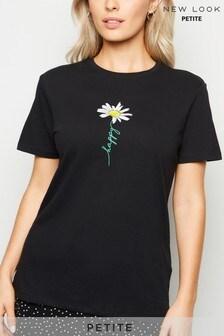 New Look Petite Happy Daisy T-Shirt