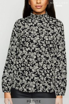 New Look Petite Floral Top
