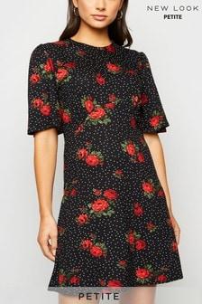 New Look Petite Jersey Empire Mini Dress