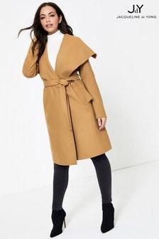 JDY Camel Wrap Coat